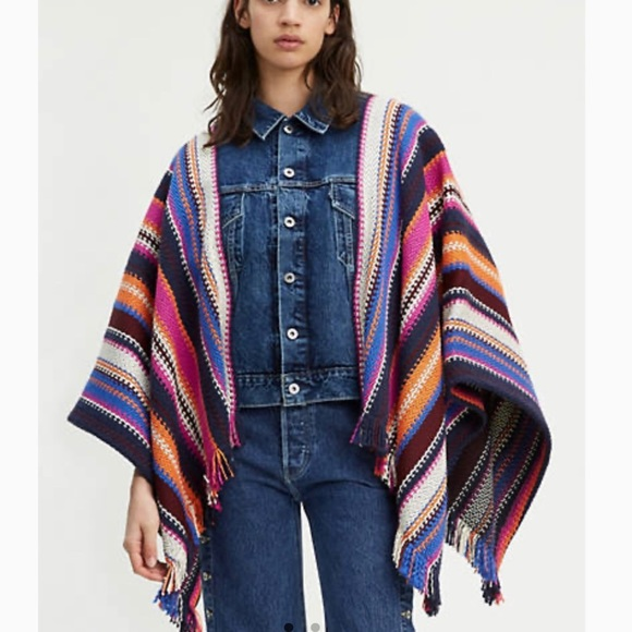 Levi's Made and Crafted Trucker Poncho Jacket